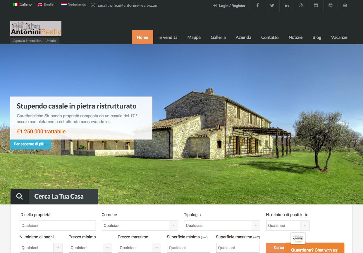 real estate website builder wordpress