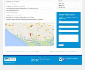 Cada propiedad de imoalk.com dispone de un formulario de contacto individual.