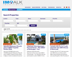 Search engine on imoalk.com built by Antonio without PHP coding