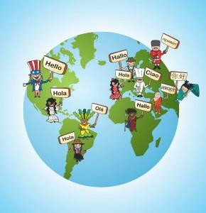 Concetto di traduzione linguistica globale