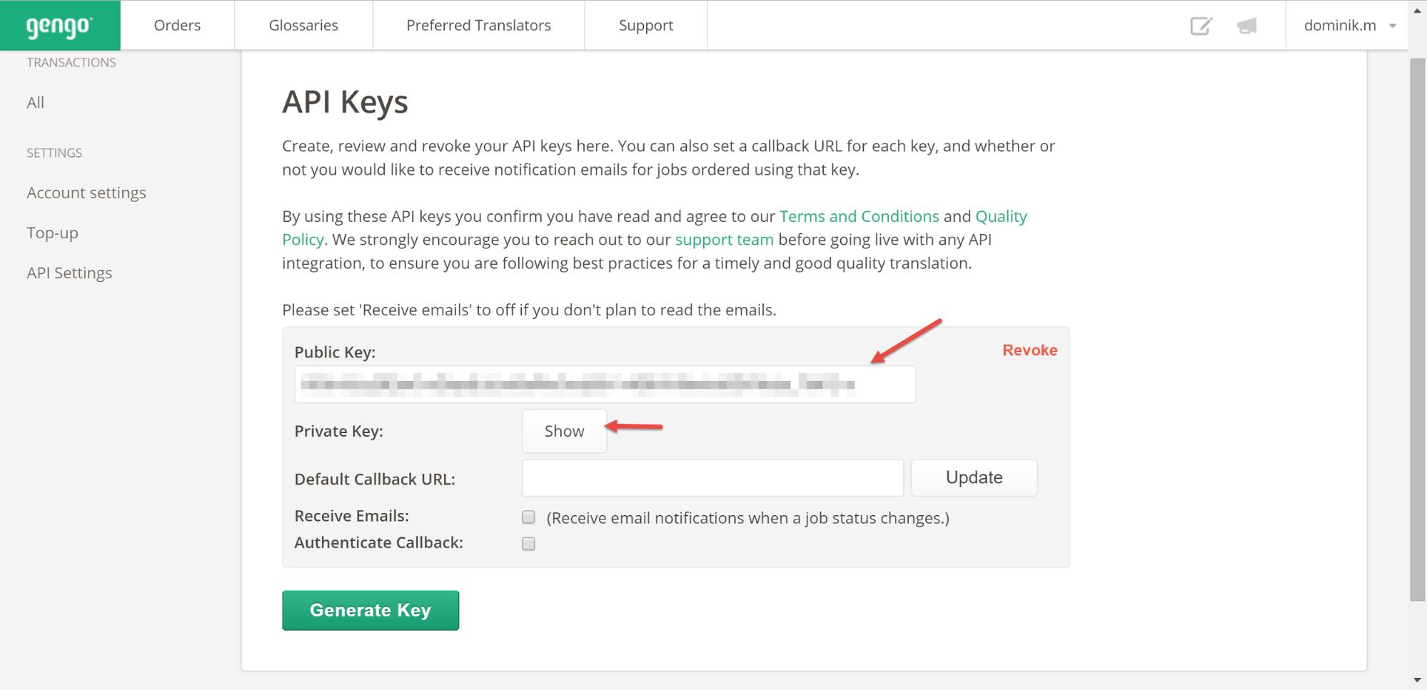 public key and private key pdf