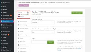 translate theme options