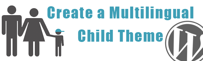 create a multilingual child theme
