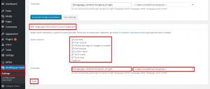 Add language information to post duplicate