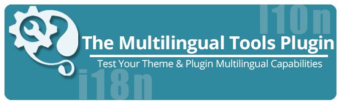 Multilingual Tools Plugin