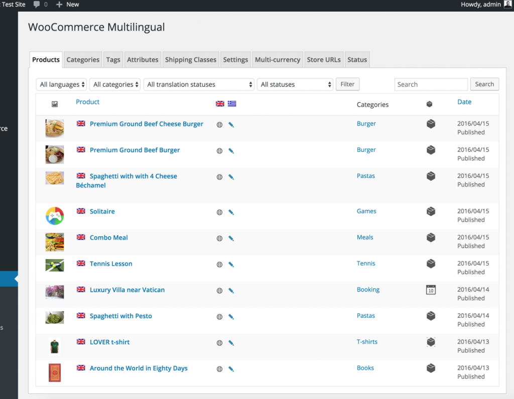 WooCommerce Multilingual configuration overview