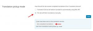 Conferir os serviços cancelados no modo manual de obtenção de traduções
