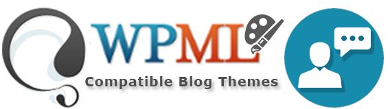 WPML compatible blog themes