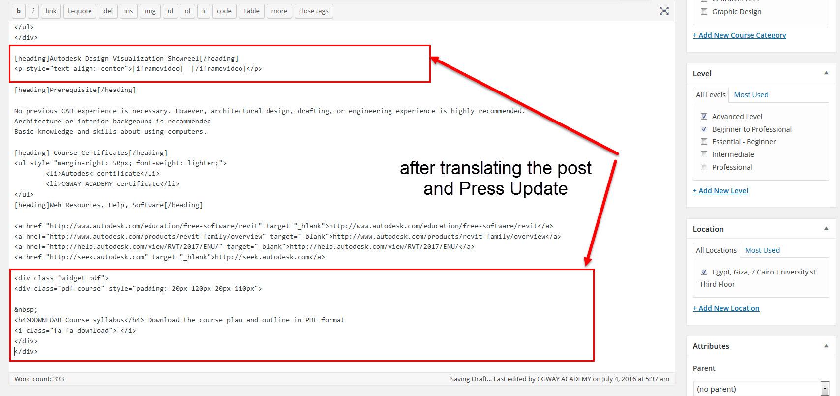Post Meta Not saved - WPML