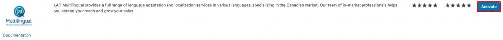Activating LAT Multilingual