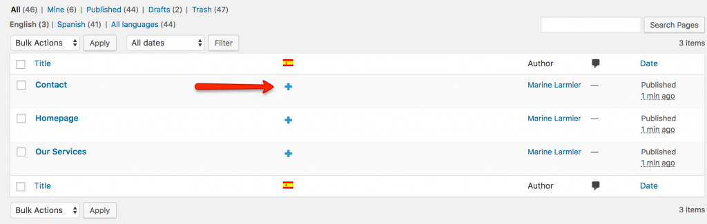 Using WPML to translate page builders.