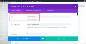 translate divi with wpml