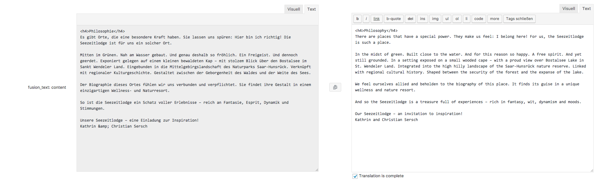 XLIFF Import - Blank translated pages - WPML