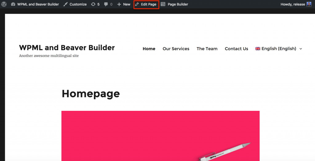 WPML Beaver Builder