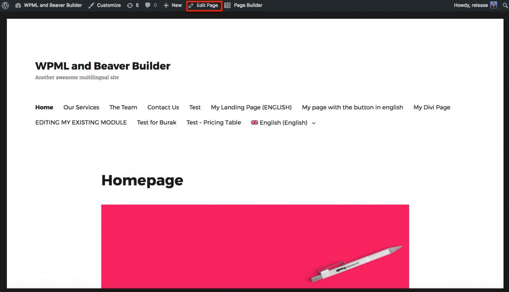 WPML and Beaver Builder