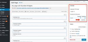 WPML and Site Origin