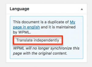 WPML with SiteOrigin