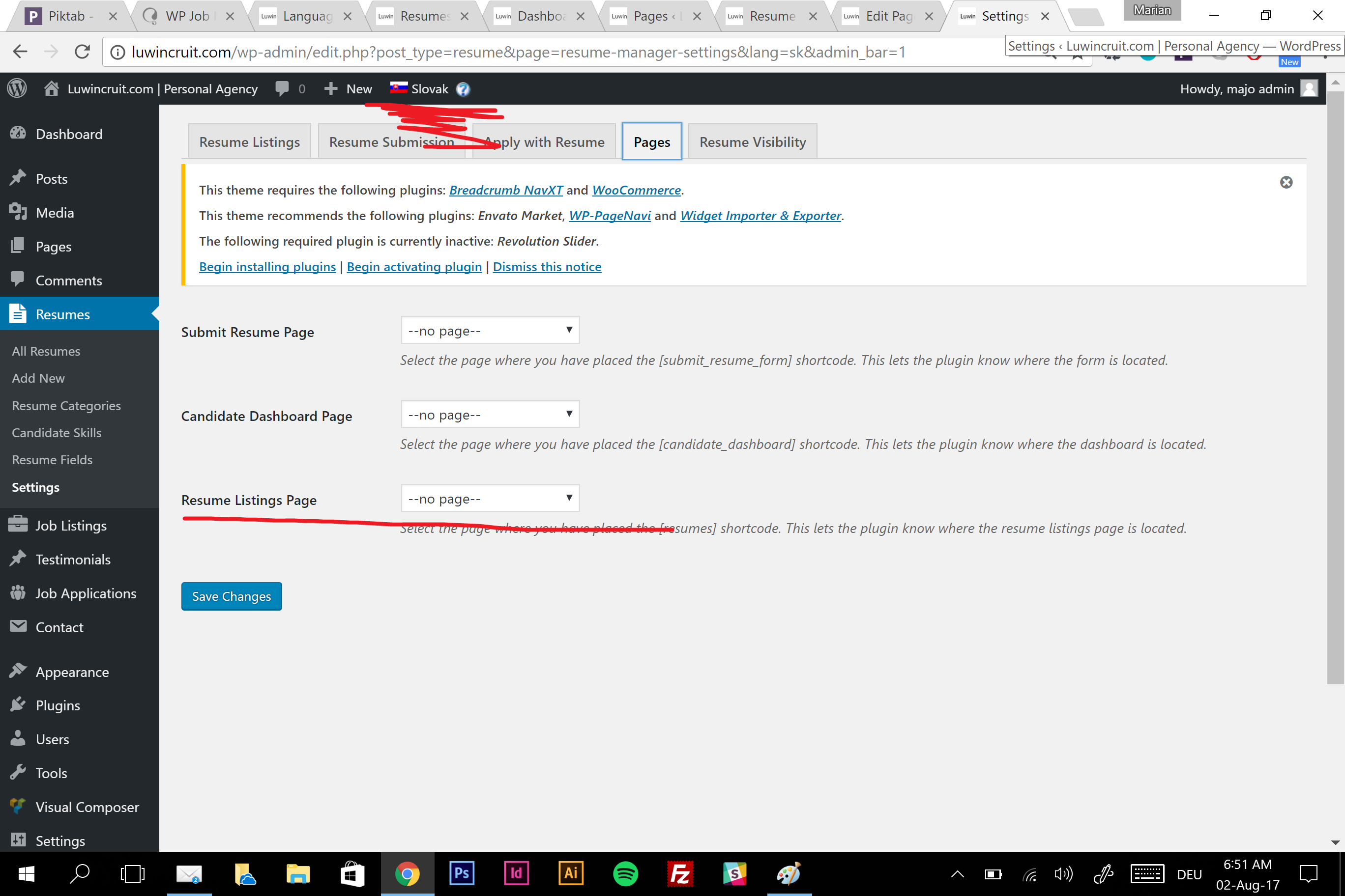 WP Job Manager plugin resumes not working with WPML - WPML