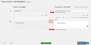 using wpml to translate WP Job Manager