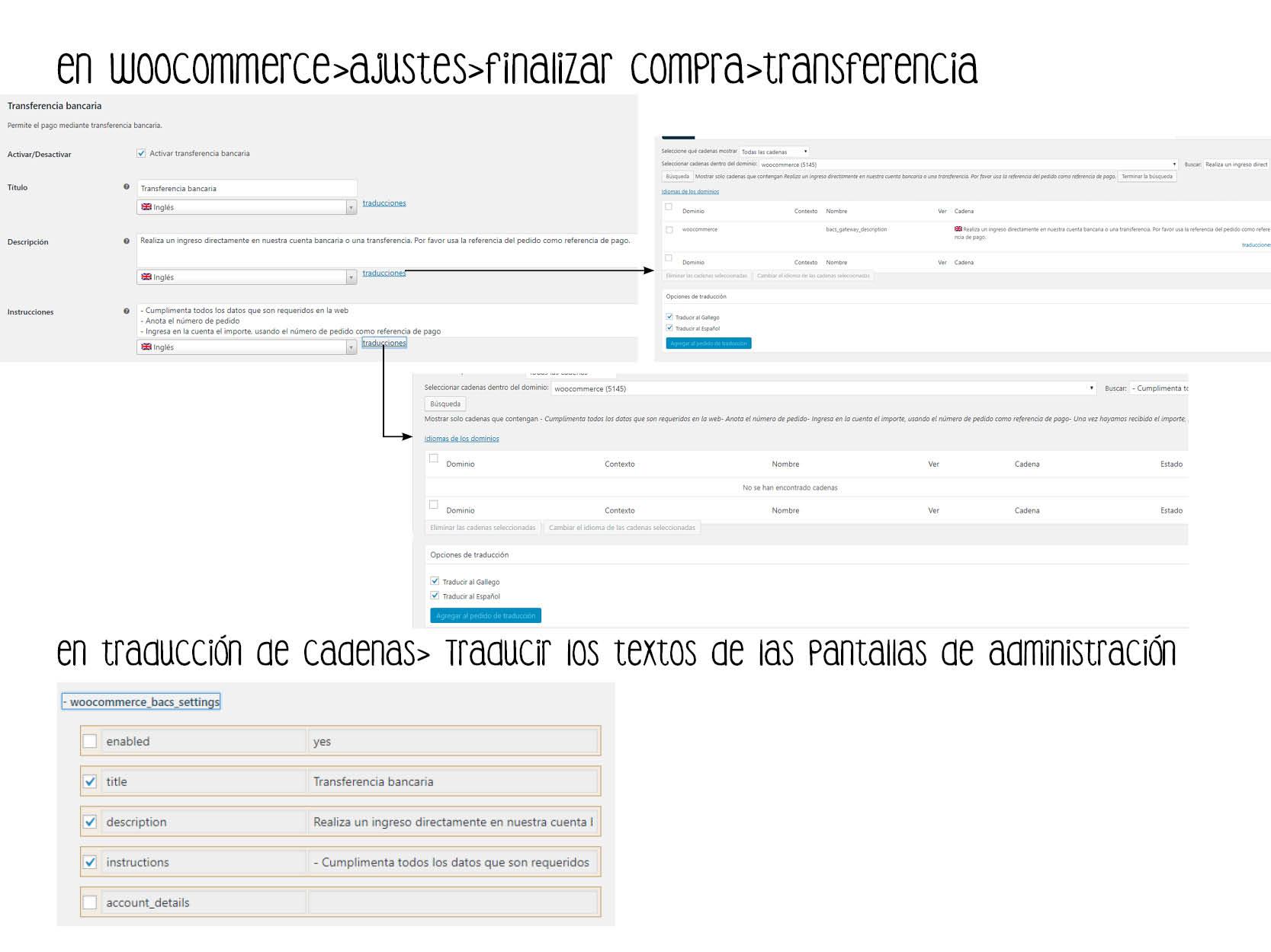 7ca819e9a Texto en español en Finalizar compra por transferencia - WPML