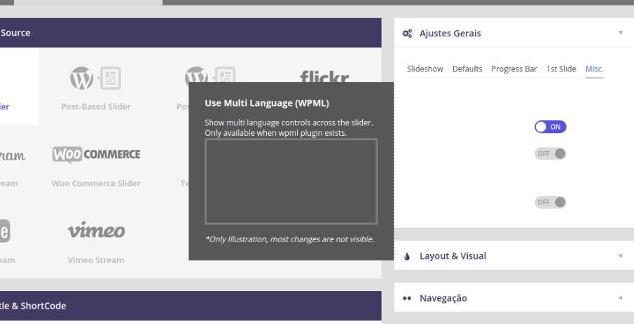 I can not translate the revolution slider - WPML