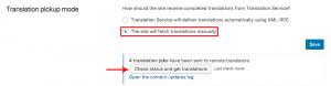 Manuelle Suche nach stornierten Übersetzungen