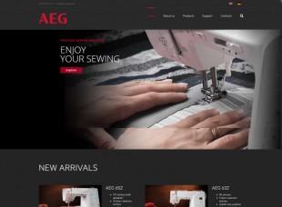 AEG sewing
