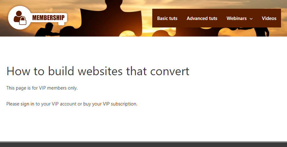 Content available only to VIP members