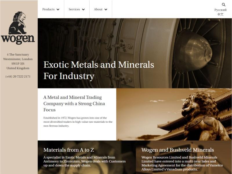 Wogen Resources Ltd.