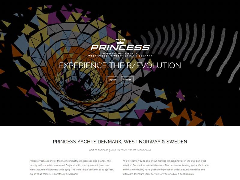Princess Yachts West Sweden Norway And Denmark Wpml