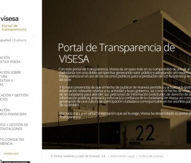 Visesa. Portal de Trasparencia