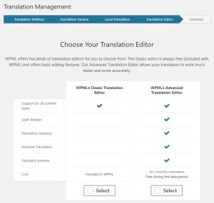Advanced Translation Editor