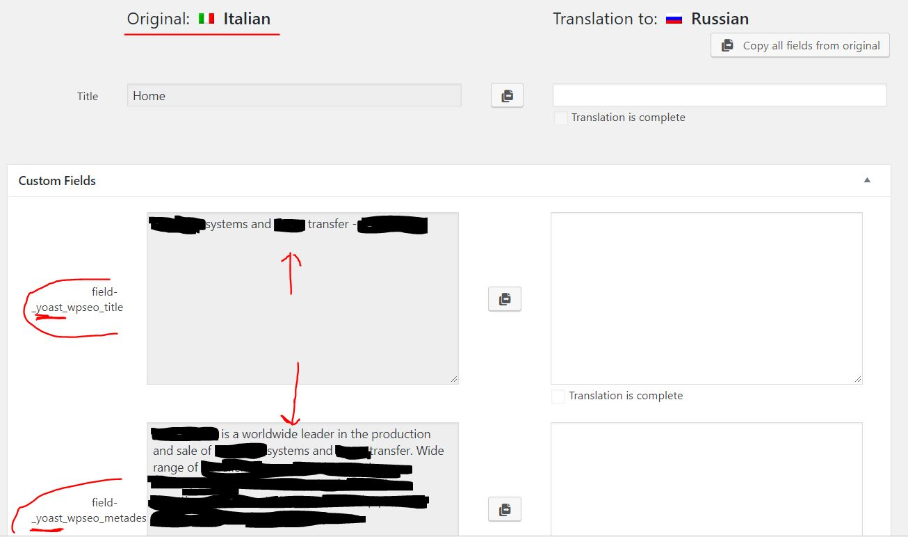 Translator Italian: Clean Errors, Reset Wrong Translation Job And Restart Home