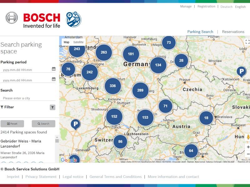 Bosch Secure Truck Parking - WPML