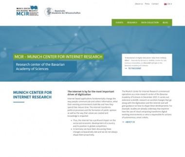 MCIR – Munich Center for Internet Research