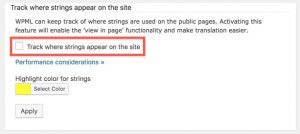 Translate themes and plugins using WPML's String Translation only (don't load .mo files) option