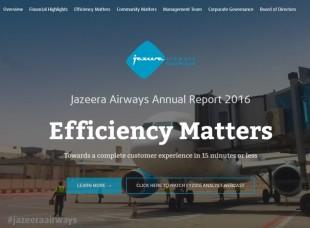 Jazeera Airways Web Report