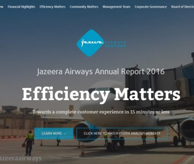 Jazeera Airways Web Report