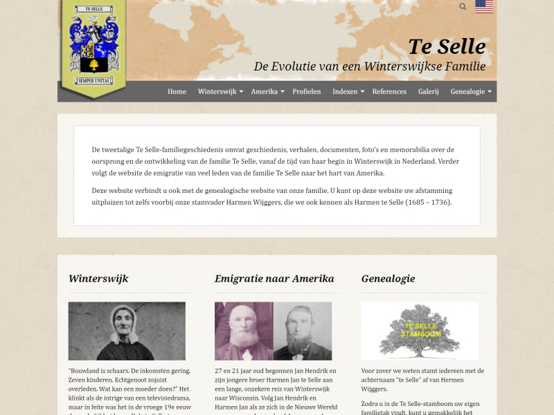 TeSelle Family History Project