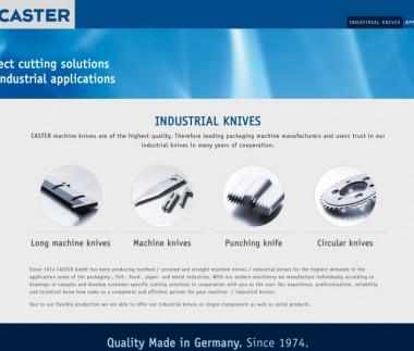 CASTER GmbH – Industriemesser