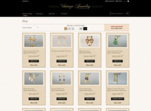 Vintage Jewelry by López Linares