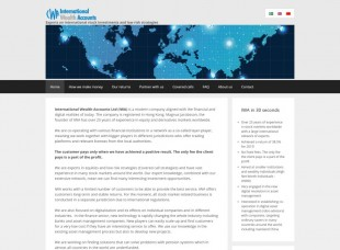 International wealth accounts