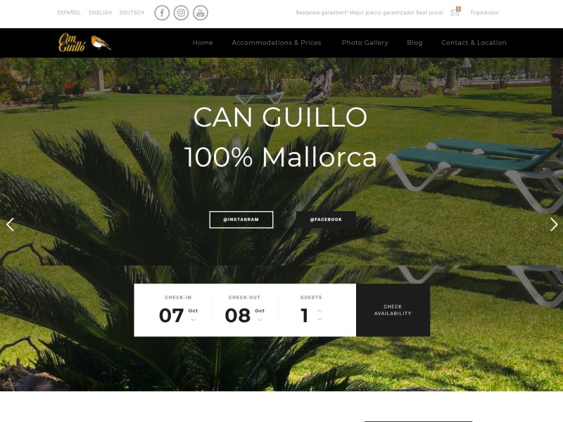 Finca Hotel Can Guillo Mallorca (Spain)