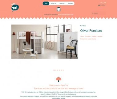 Petit Toi, baby online shop