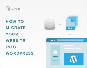 import your website to WordPress