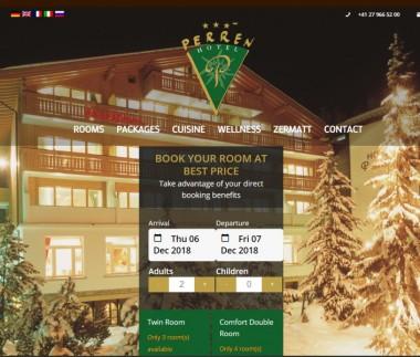 Hotel Perren in Zermatt