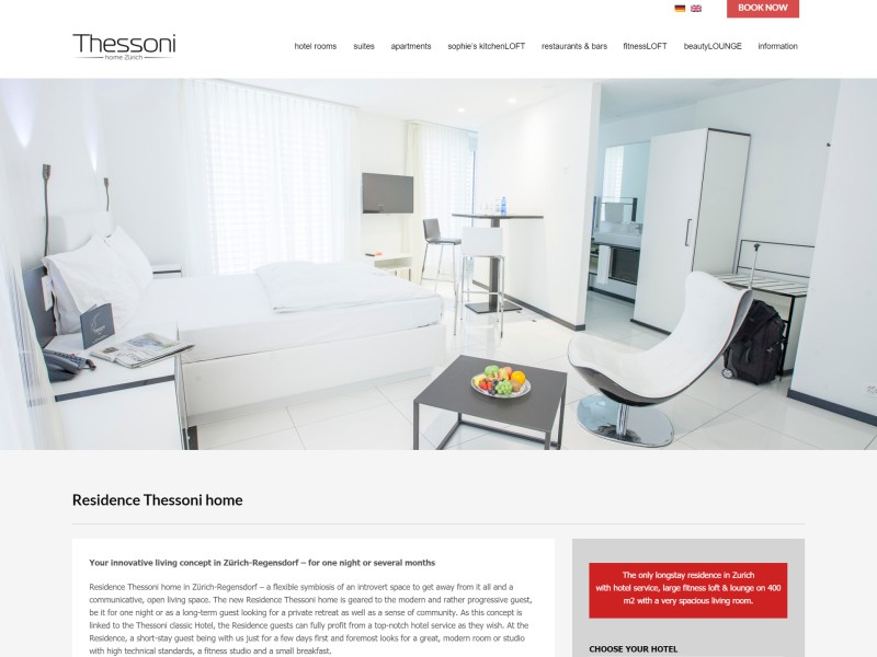 Residence Thessoni home
