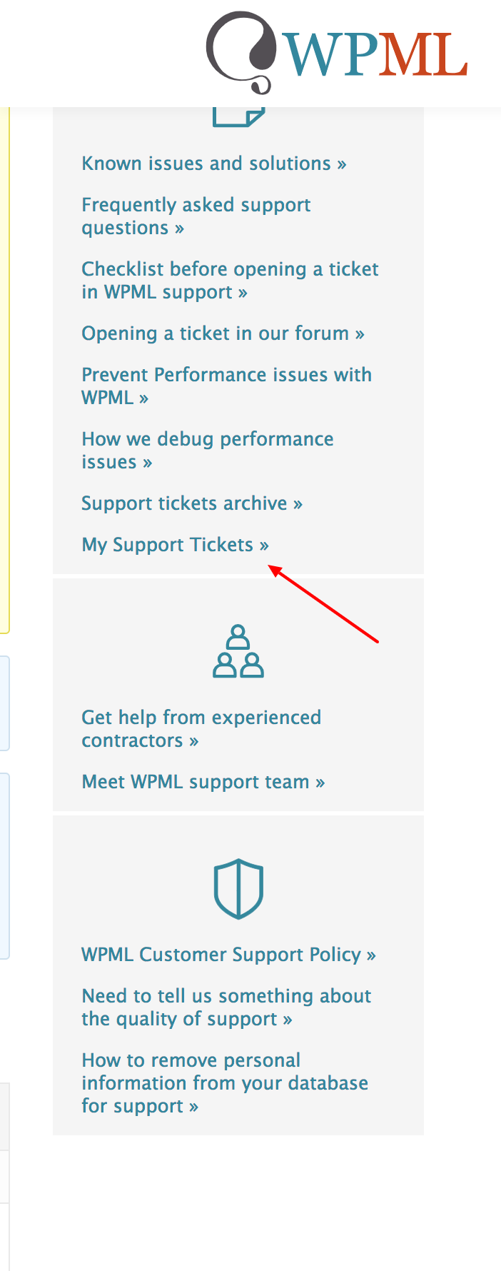 How to find my older support tickets   WPML.png