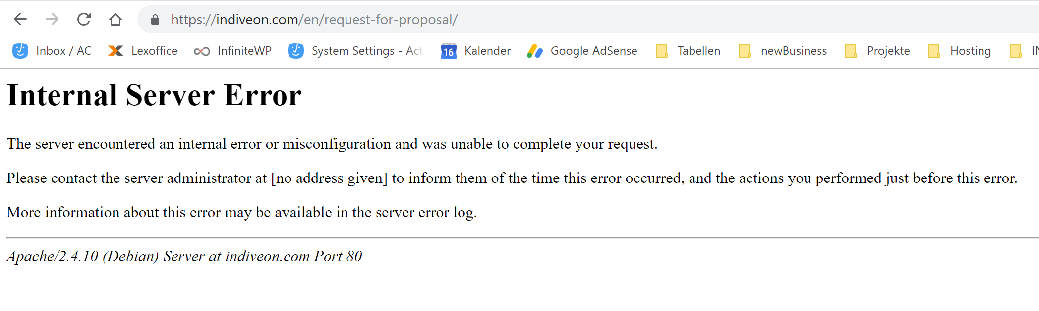 Rewrite fails, I get error 500 on almost all pages - WPML