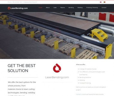 Laser Bending – Tipper Semi-trailers and Machine carriers
